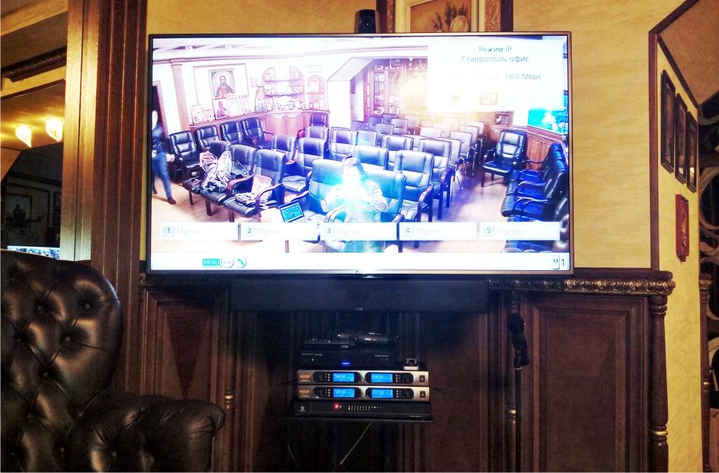 Сеть HD видеоконференцсвязи
