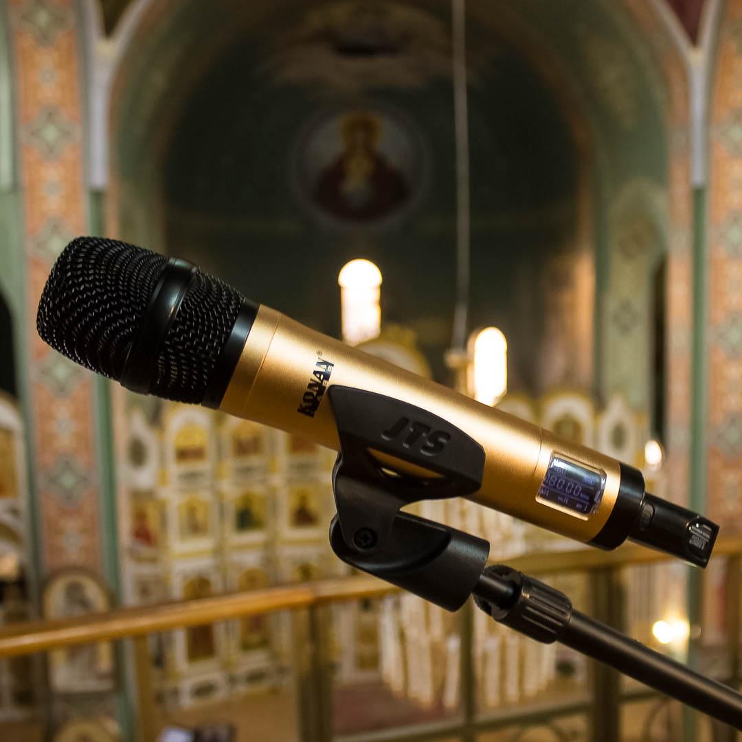 Автоматизированное звукоусиление в храме