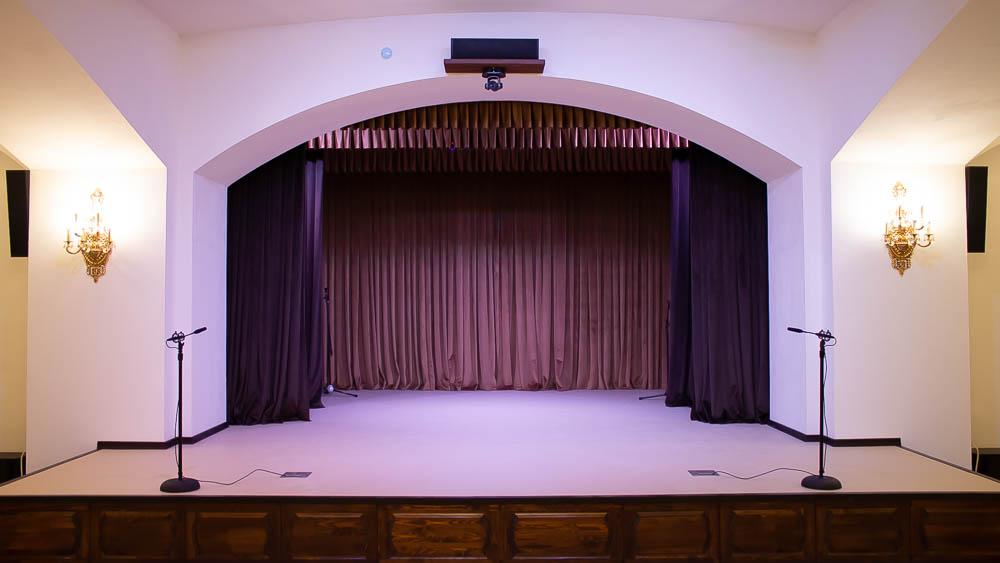 Техническое оснащение актового зала с мини-театром